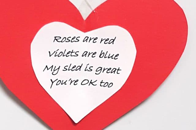 Some Romantic Valentine's Day Advice from One Sledder to Another