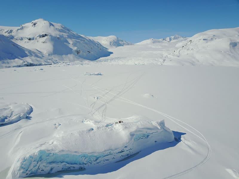 Icefields of British Columbia