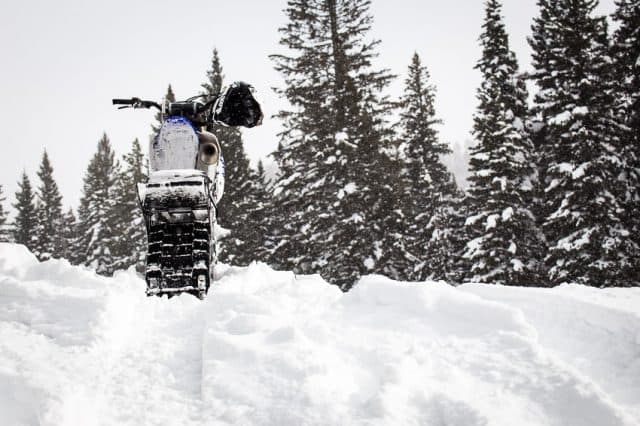 Riding a Snow Bike 101 for Sledders and Dirt Bike Riders – Old Guy, New Tricks