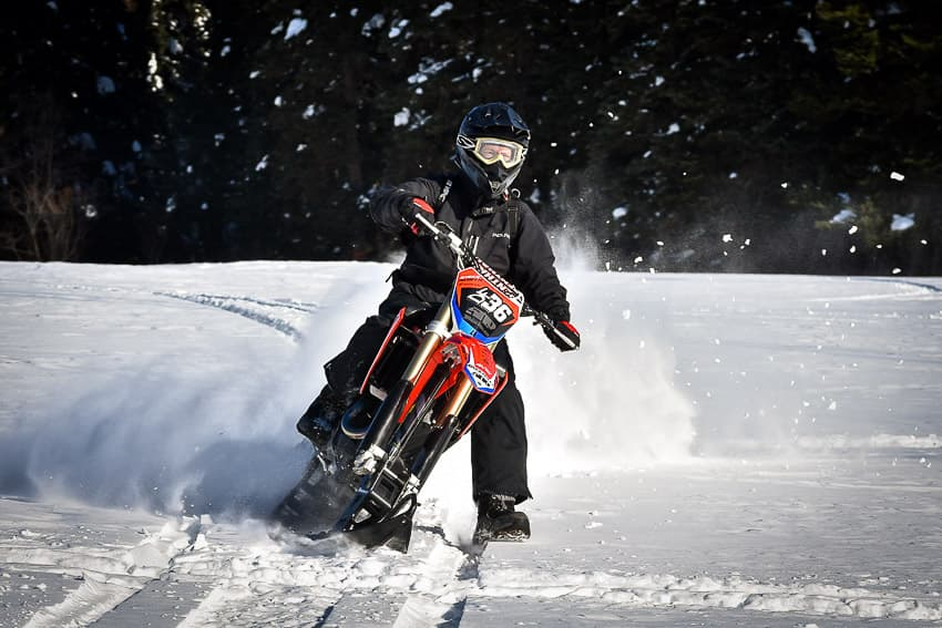Riding a Snow Bike 101