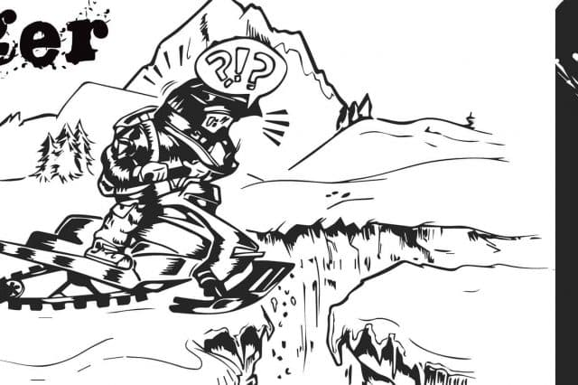 Hidden Danger: the Hazards of Snowmobiling on a Glacier or Icefield