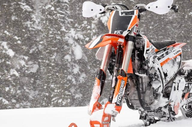 What's New for 2019 Timbersled Snow Bike Kit Lineup
