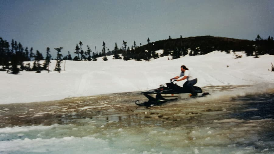 Early Days of Mountain Riding