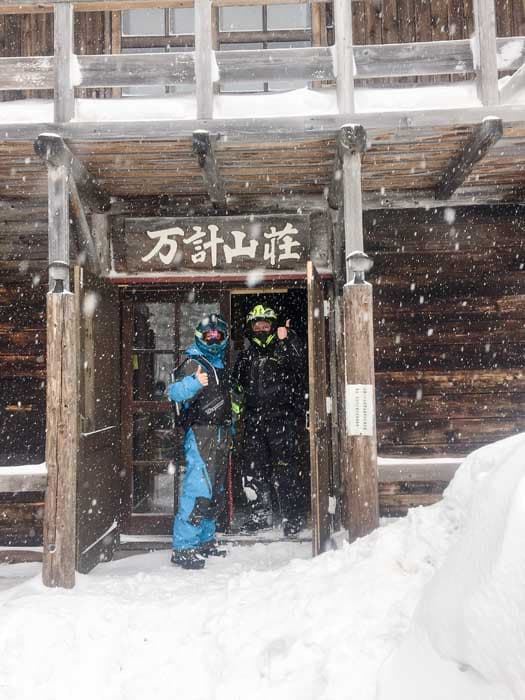 Snowmobiling in Japan
