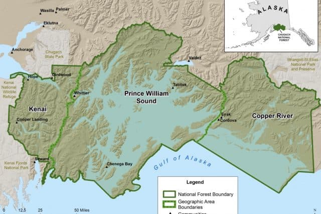 USDA Reports No Comments On Chugach NF Land Management Plan Lost or Altered