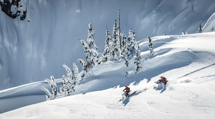 Heli-Sledding in Whistler