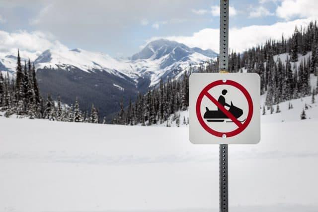 Glacier National Park Boundary