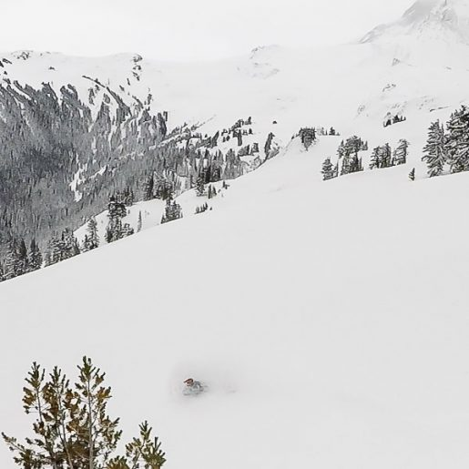 BC Coastal Range Gets Pounded by Winter Storm