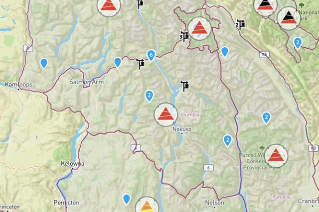 Storm Cycle Creates High Avalanche Hazard Across BC and AB