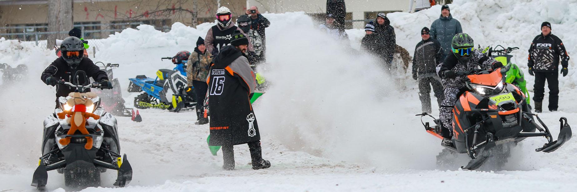 2nd Annual Turcotte Compound Snowarama Drag Race & Freestyle