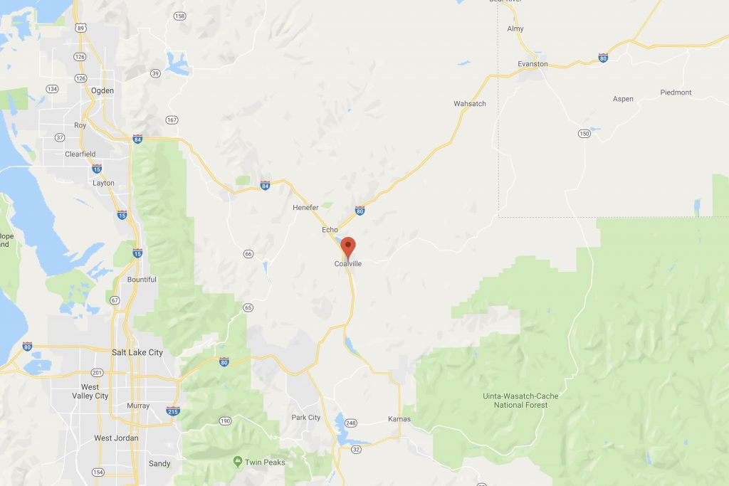 Coalville Utah Map