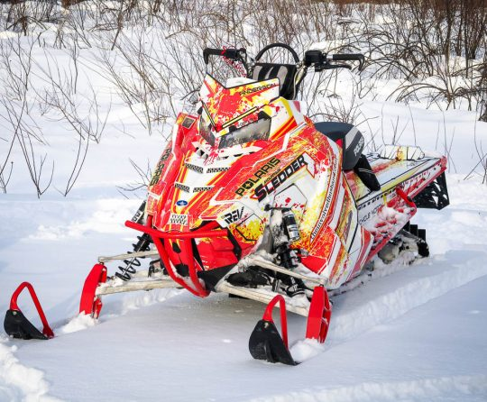 Bringing a Sled Wrap Design to Life