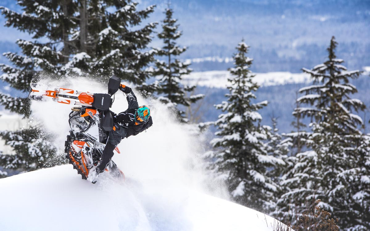 2020 Timbersled RIOT Snow Bike