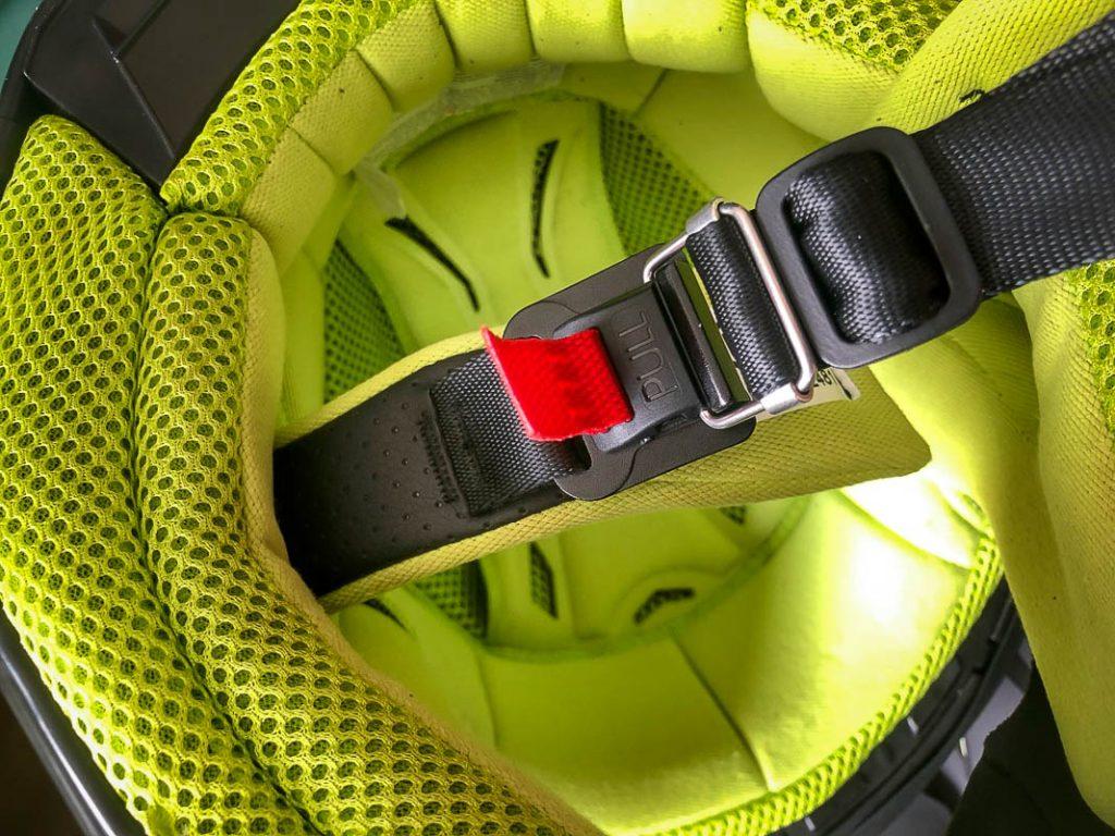 509 Carbon Altitude Helmet Interior