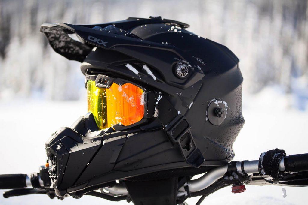 CKX Titan Helmet RapidClip Goggle Release
