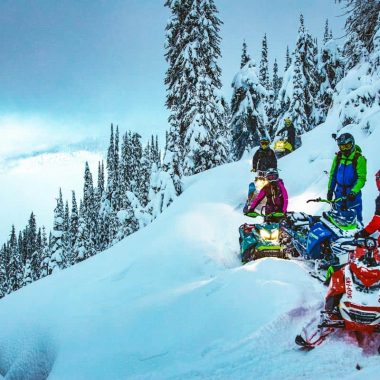 Ski-Doo Launching Escape Mountain Video Series