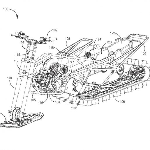 Arctic Cat Snow Bike Patent Application