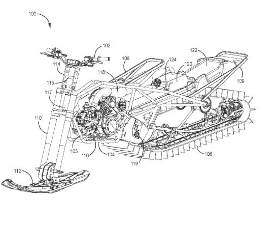 Arctic Cat Snow Bike Patent Application