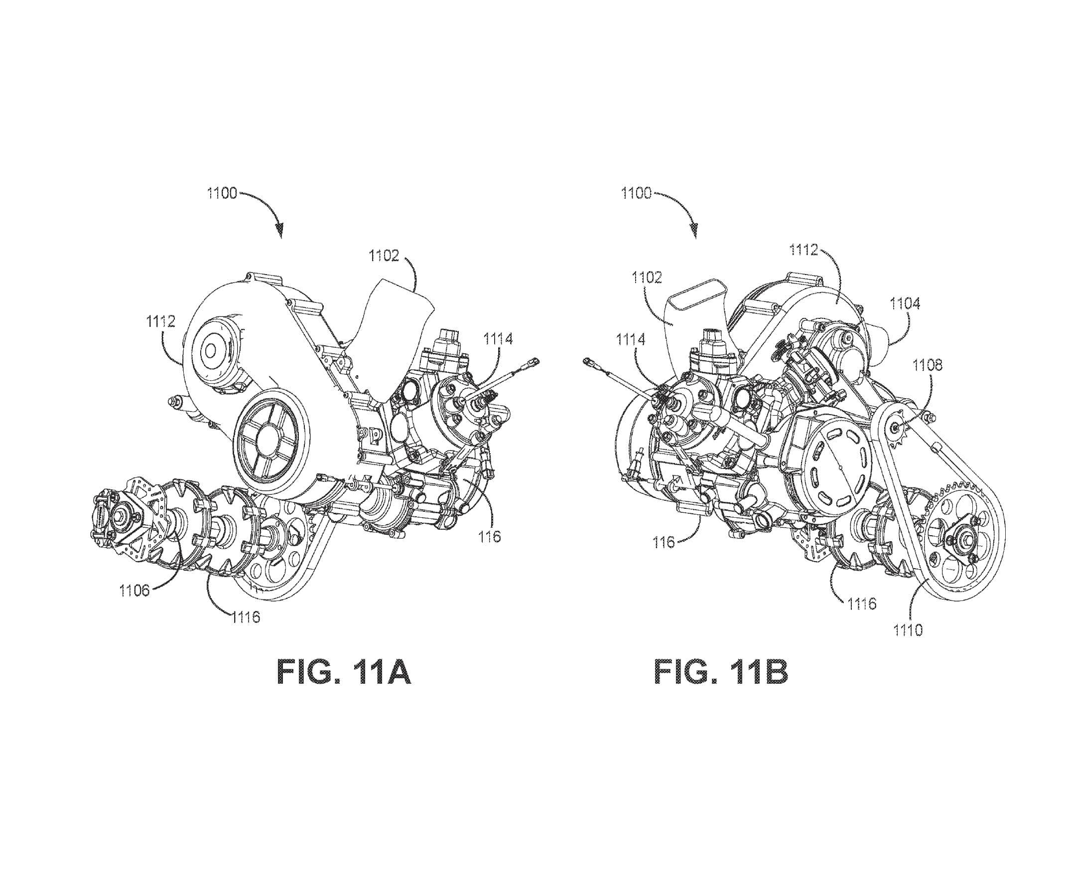Arctic Cat Snow Bike Patent 04