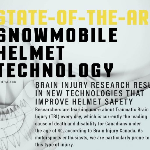 State-of-the-Art Snowmobile Helmet Technology