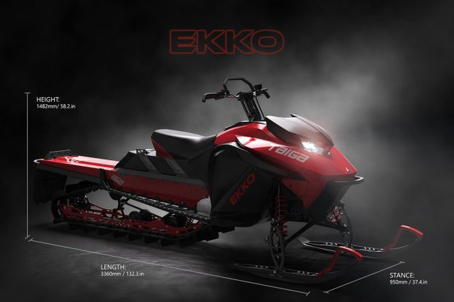 Taiga Motors Ekko Electric Mountain-Specific Snowmobile