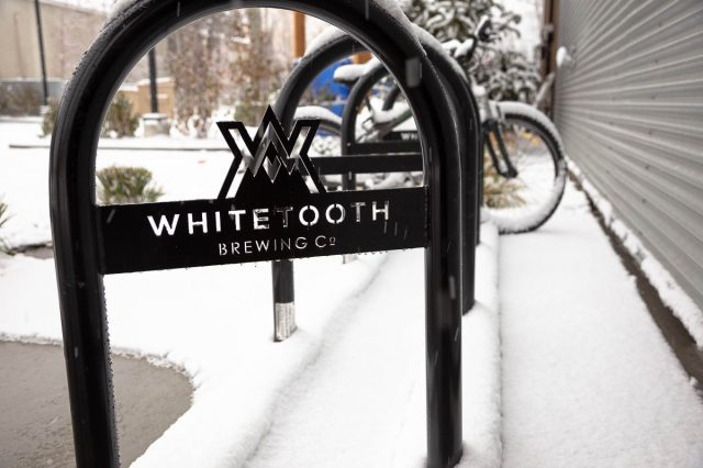 Whitetooth Brewing Co. bike rack