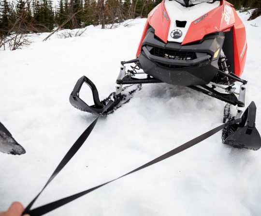 Easiest Way to Tow a Snowmobile