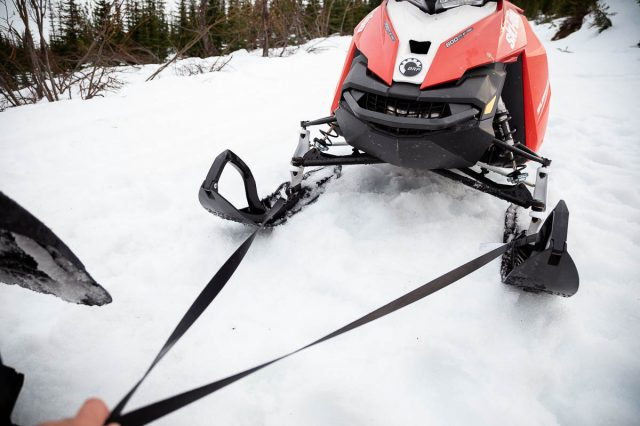 Easiest Way to Tow a Snowmobile-4