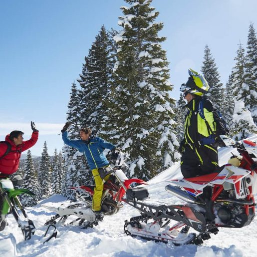 Jonny Moseley's Wildest Dreams: SNOWMOTO!