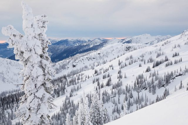Riding in Silence in the Backcountry