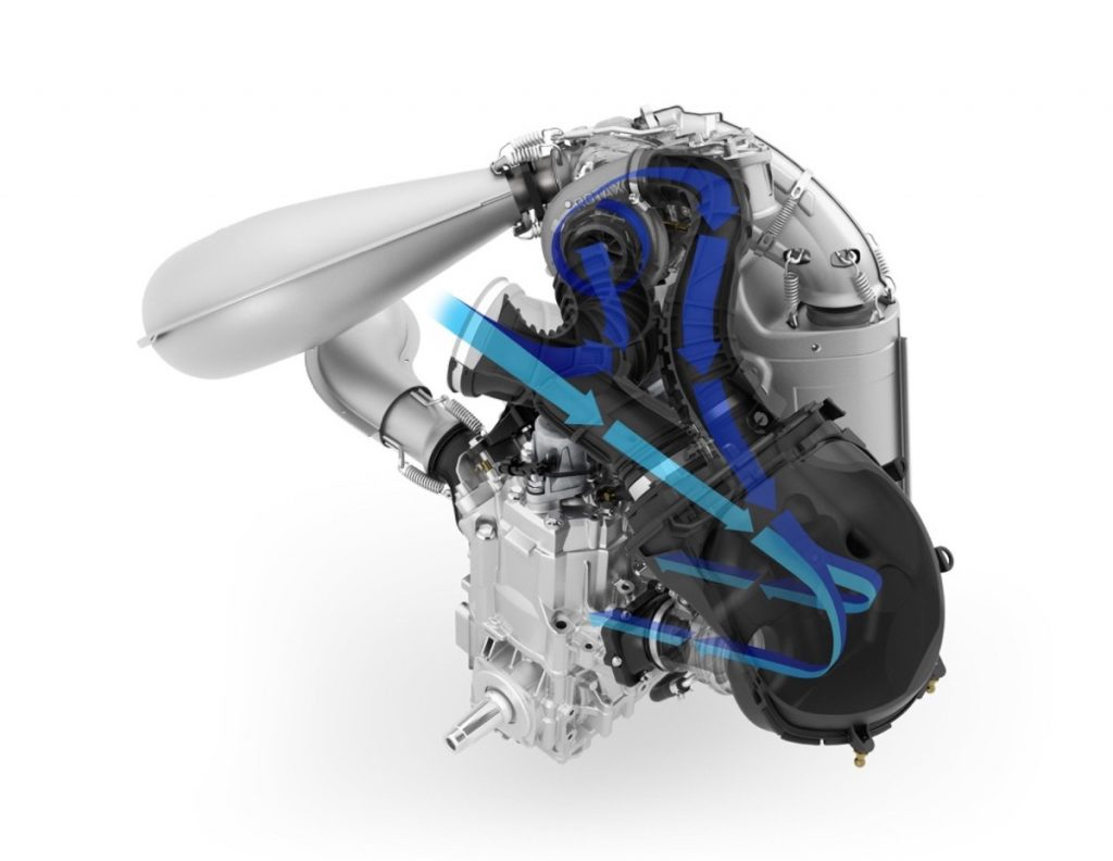 Ski-Doo 850 E-TEC Turbo Intake Tract