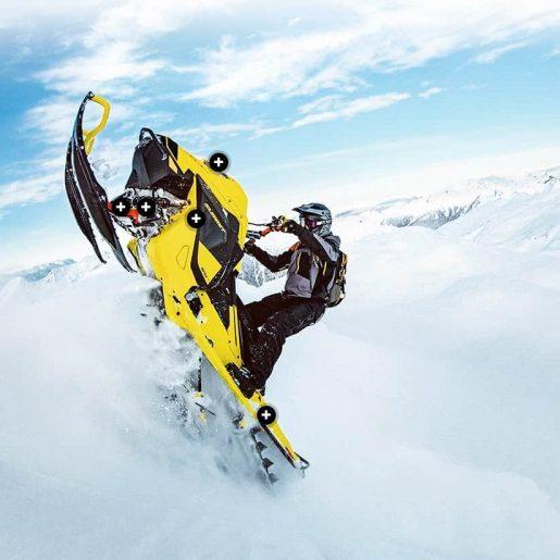 Ski-Doo Summit 850 E-TEC Turbo Revealed