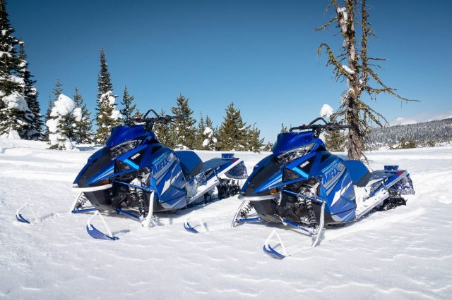 They're back! Yamaha Mountain Max 2-Stoke Mountain Sled for 2021