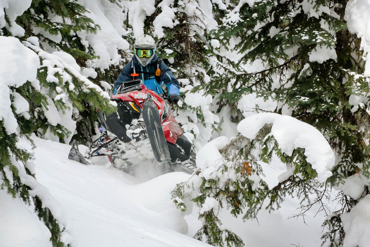 Polaris RMK Khaos Snowmobile_