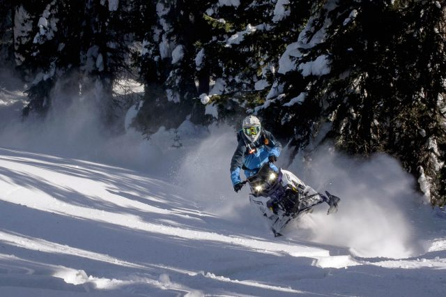 Polaris RMK Khaos Snowmobiles_