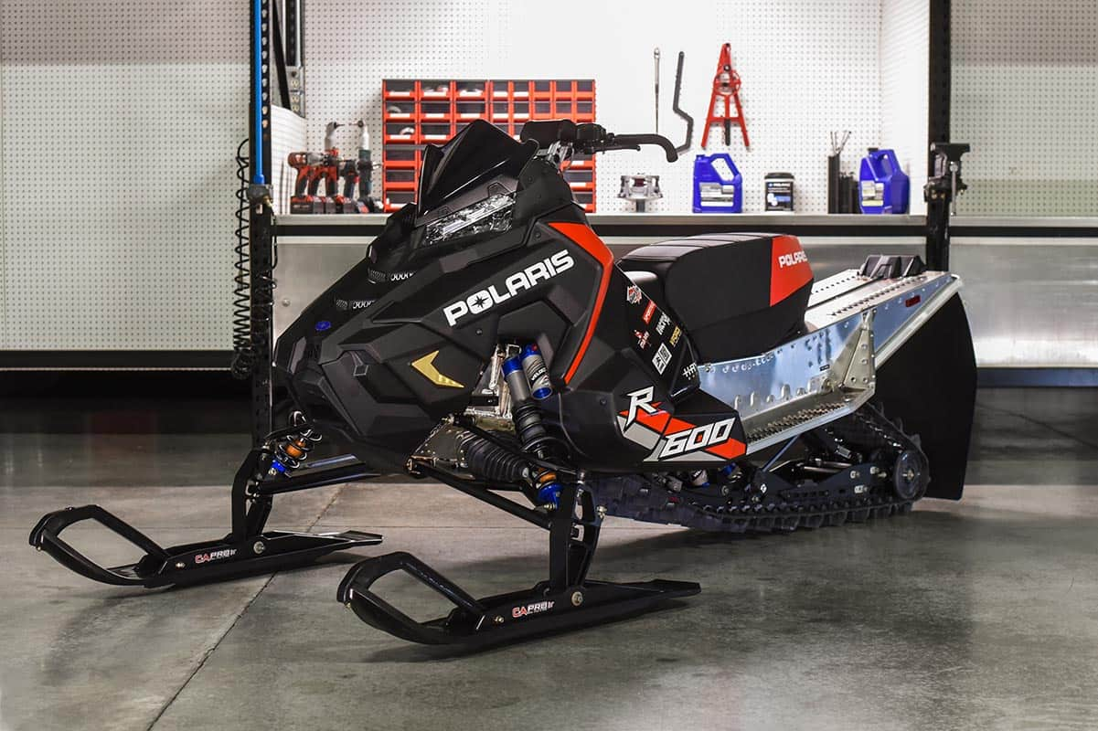 Polaris 600R Race Sled Featured