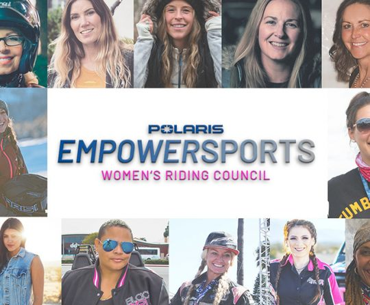 Polaris Launches Inaugural Empowersports Women's Riding Council
