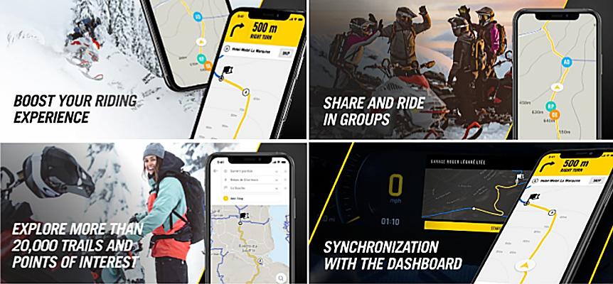 BRP GO Navigation App Full Size