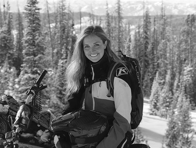 Ski-Doo New Ambassador Stefanie Dean