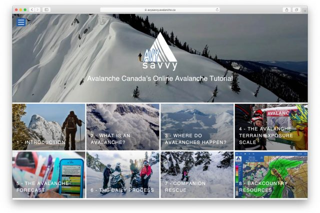 Avalanche Canada Launches Avy Savvy, an Online Tutorial for Backcountry Beginners