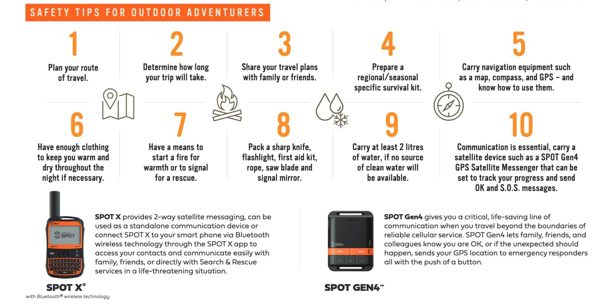 Globalstar SPOT Discount Snowmobile Safety Week info 2
