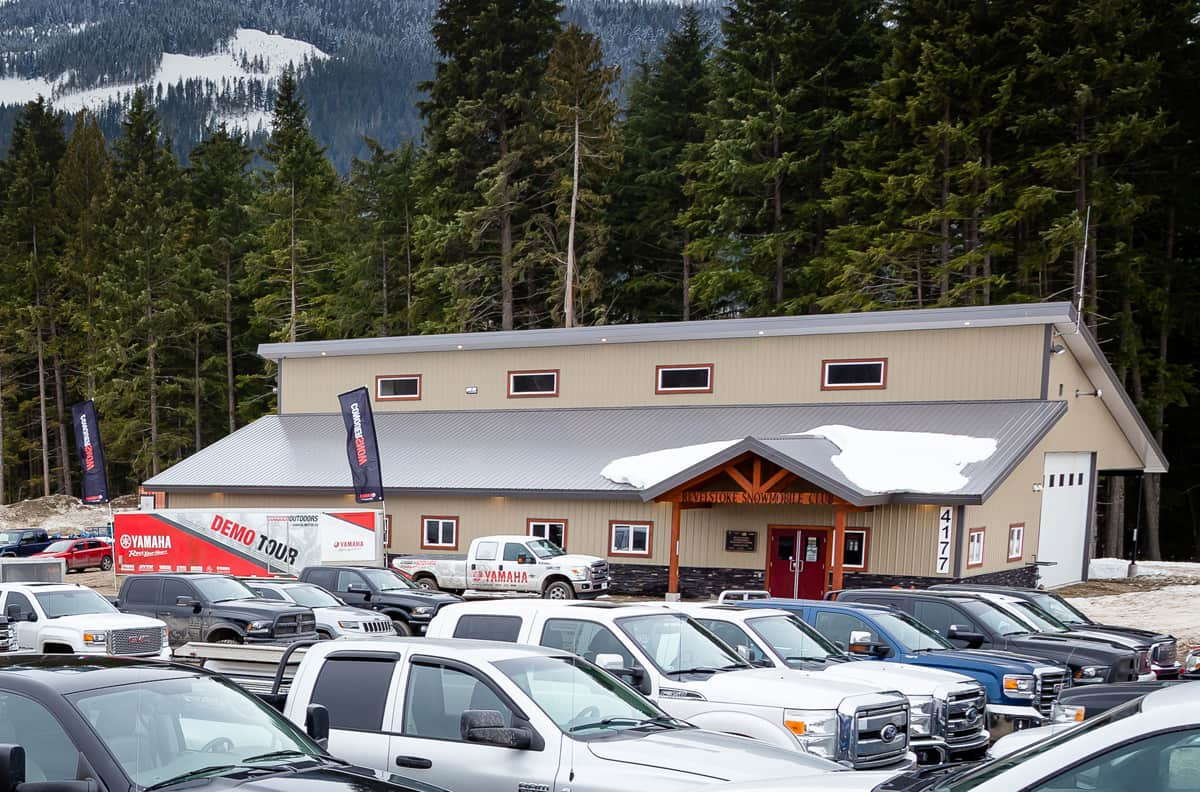 Revelstoke Snowmobile Clubhouse
