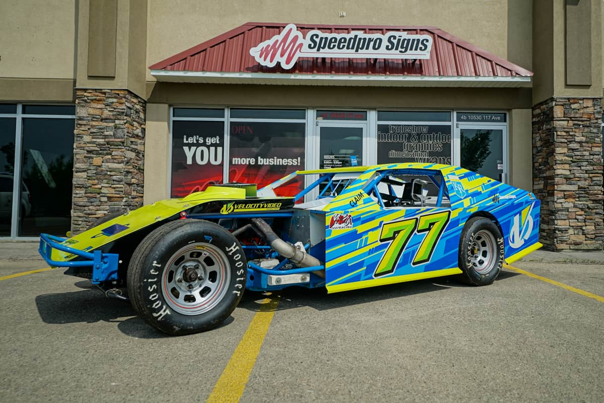 Mike Reeve Circle Track Race Car