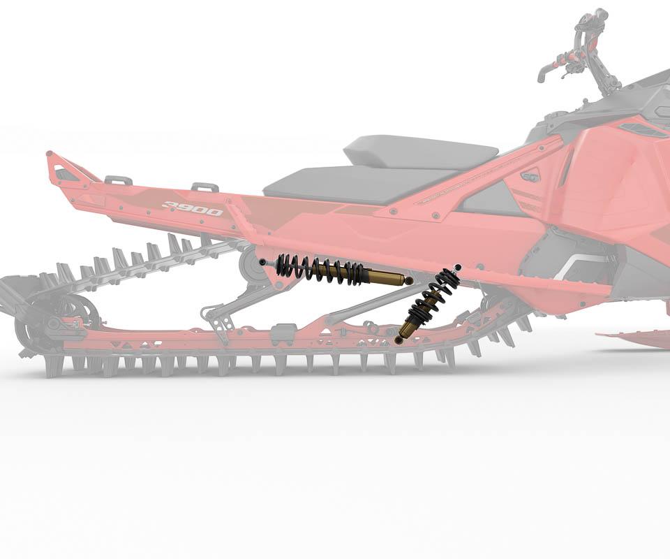 Lynx BoonDocker DS Snowmobile_-4
