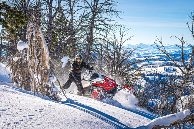 2022 Polaris Snowmobile Mountain Lineup