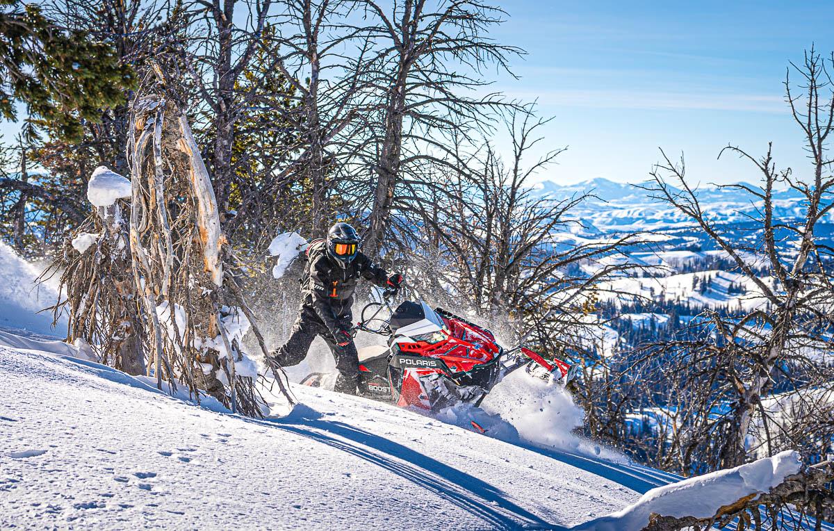 2022 Polaris Snowmobile Mountain Lineup