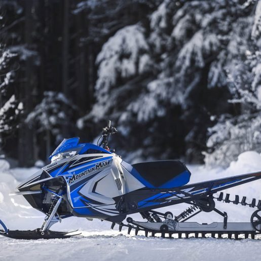 2022 Yamaha Mountain Max SL – New Lightweight Mountain Trim