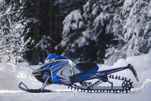 2022 Yamaha Mountain Max SL – New Lightweight Mountain Trim