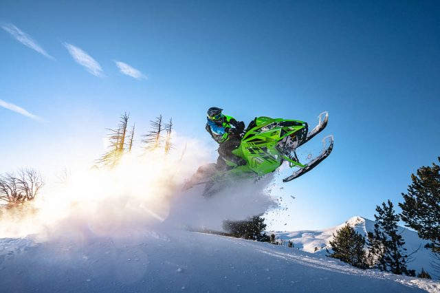 2022 Arctic Cat Snowmobile Mountain Lineup