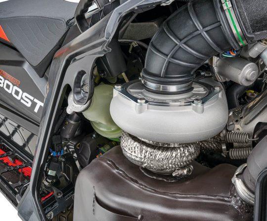 Polaris Patriot Boost! Factory 2-Stroke Turbo Engine
